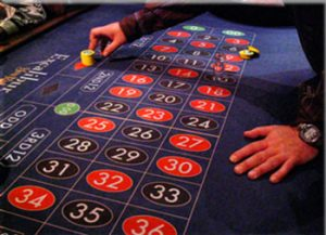 Roulette put all on red