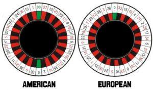 Roulette american vs european roulette