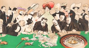 Roulette game in Casino Art