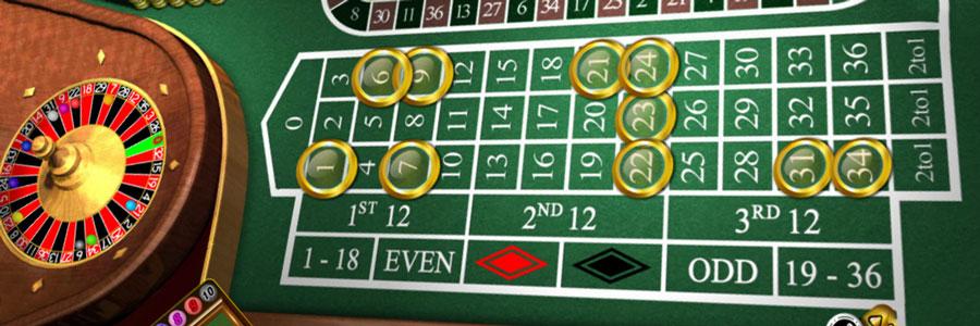 Roulette table Online